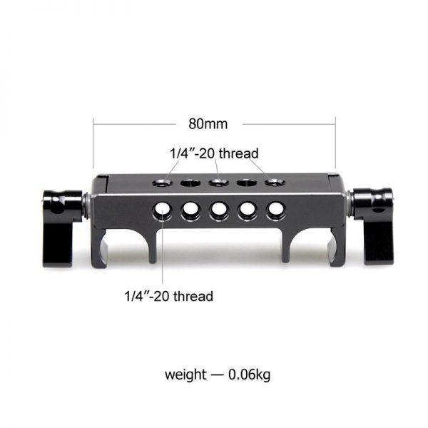 SmallRig 1097 Professional Quick Release railblock
