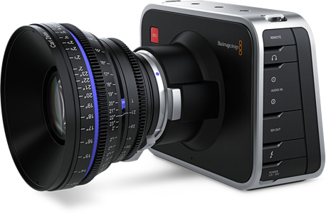 Blackmagic Cinema Camera EF field side