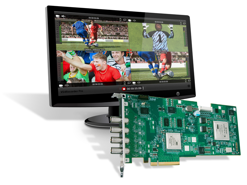 Matrox VS4 Recorder Pro - As Above with VS4 Recorder Pro sof