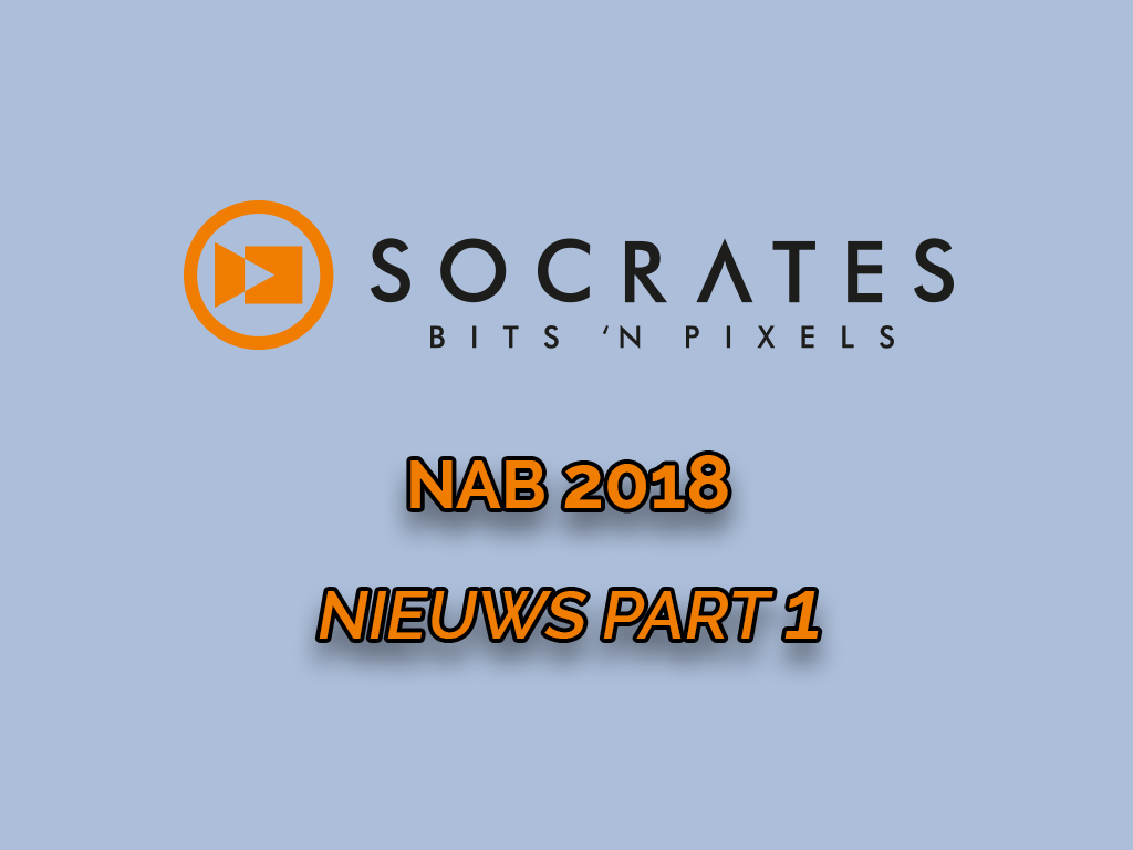 NAB 2018 nieuws part 1