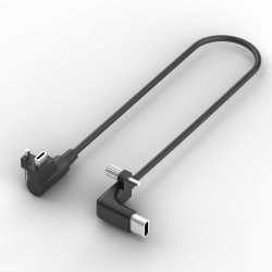 90-Degree USB-C Cable
