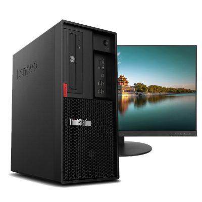 Lenovo ThinkStation P330 + 27 inch monitor
