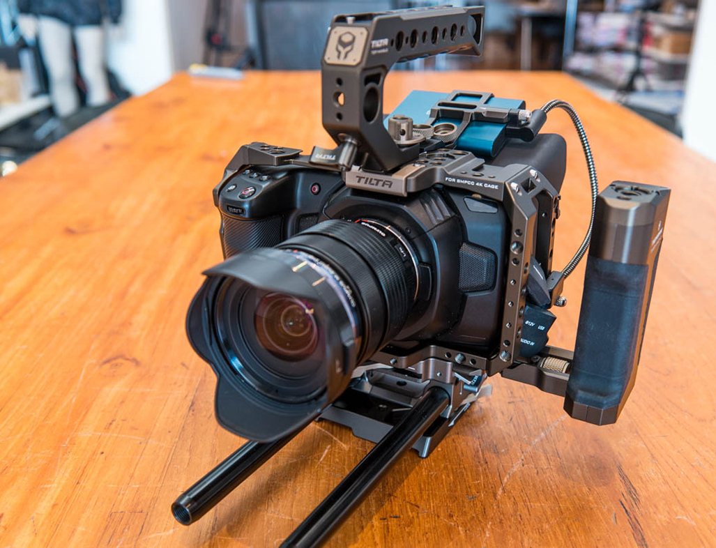 Tilta Camera cages voor Pocket Cinema Camera 4K