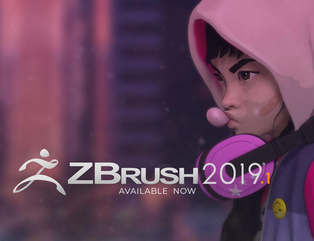 Update gratis naar ZBrush 2019-1