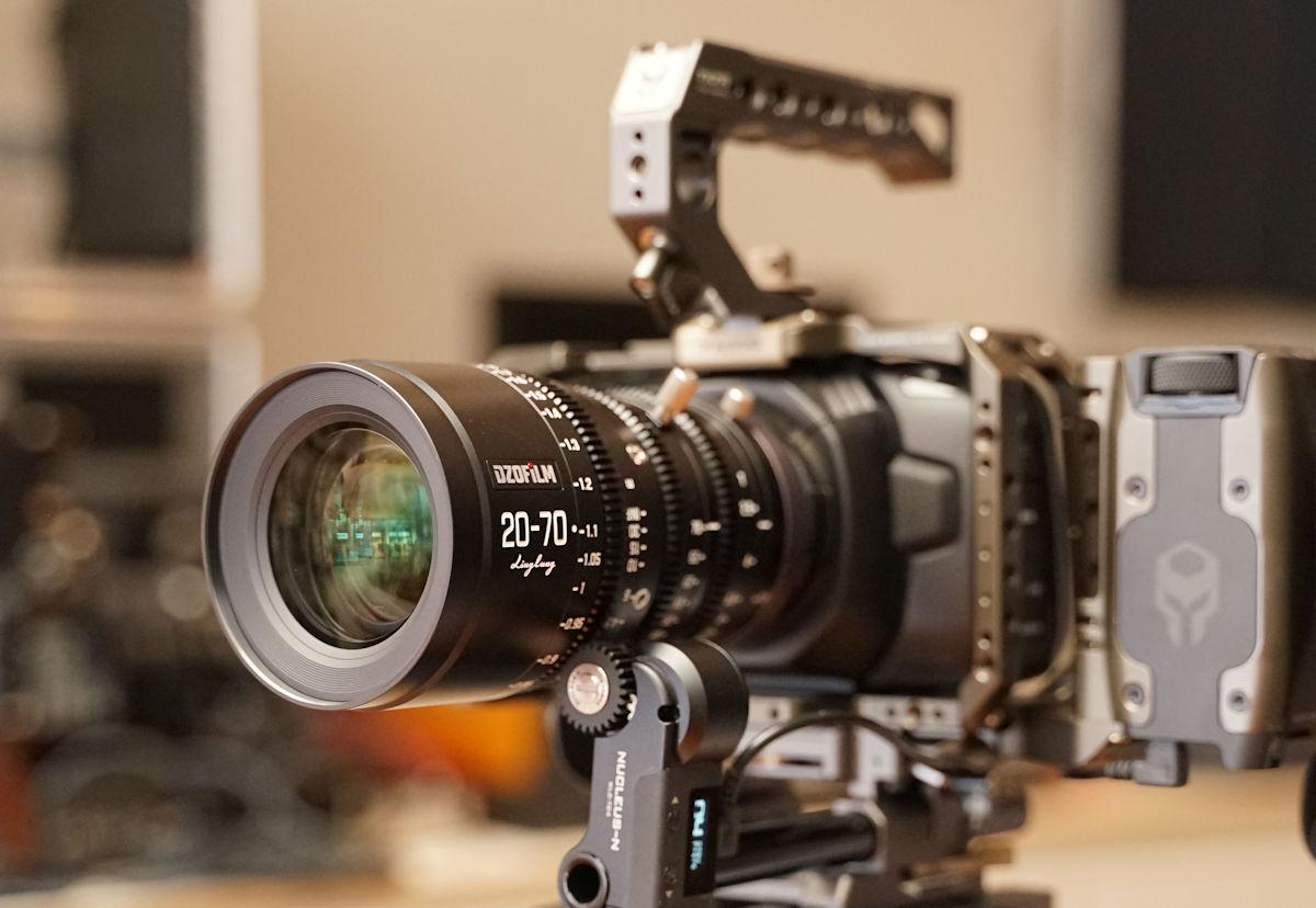 DZOFilm 10-24mm BMPCC4K Tilta Nucleus-N