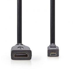 micro-HDMI naar HDMI female