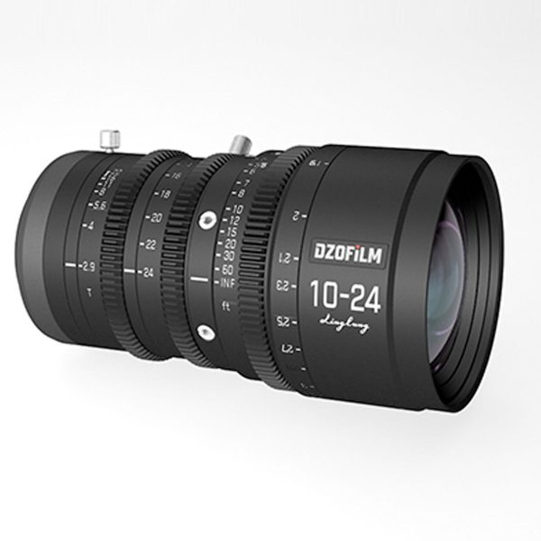 DZOFilm 10-24mm cine zoom lens