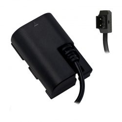 Canon-LP-E6-Dummy-Battery-to-P-TAP-Cable