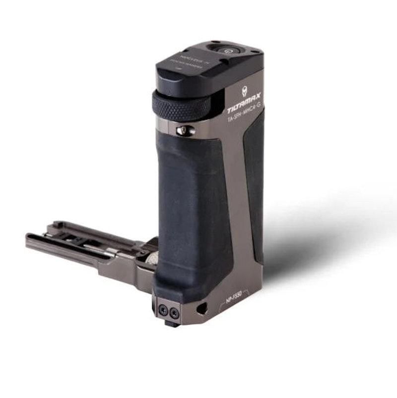 Tilta TA-SFH4-57-G Side Focus Handle type I voor Sony 570 accu voor camera's cages als voor de BMPCC4K en 6K