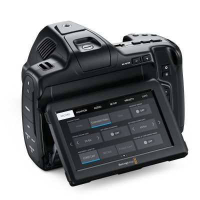Blackmagic Pocket Cinema Camera 6K Pro rear side
